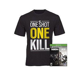 XONE Rainbow Six Siege c/ Camiseta