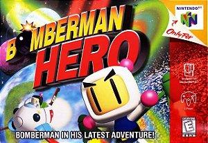 N64 Bomberman Hero (usado/relabel)