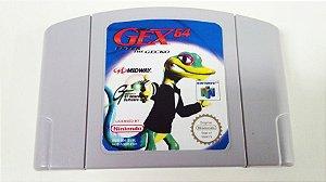 Gex 64: Enter The Gecko - N64 Relabel (usado)
