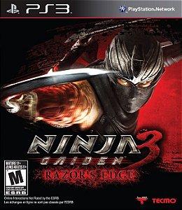 Ninja Gaiden 3: Razor´s Edge - PS3 (usado)