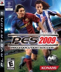PS3 PES 2009 - Pro Evolution Soccer (usado)