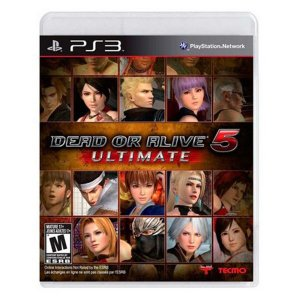 Dead or Alive 5 Ultimate - PS3 (usado)