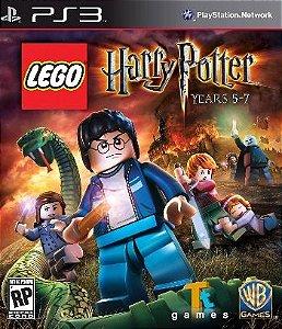Lego: Harry Potter Anos 5-7 - PS3 (usado)