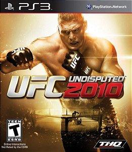 UFC 2010: Undisputed - PS3 (usado)