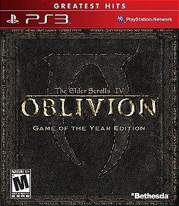 PS3 The Elder Scrolls IV Oblivion - Goty Edition (usado)