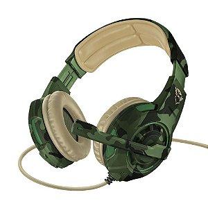 Headset Trust Radius Jungle Camo GXT-310C PC/PS5/PS4/Xbox One/Switch