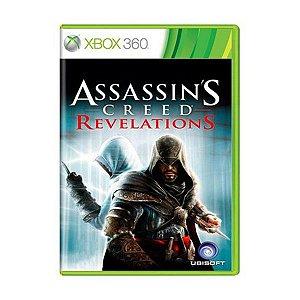 Assassin´s Creed: Revelations - Xbox 360 (usado)