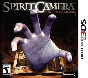 3DS Spirit Camera - The Cursed Memoir (usado)