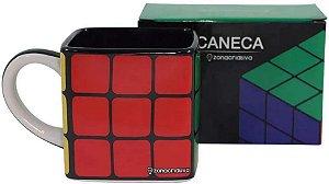 Caneca Rubiks Cubo Magico 300ML - Zona Criativa