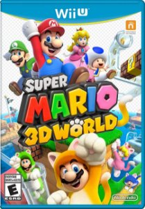 Super Mario 3D World - Wii U (usado)