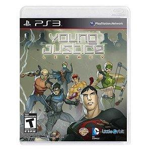 Young Justice: Legacy - PS3 (usado)