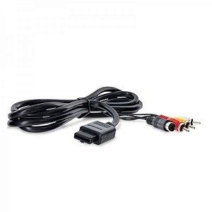 Cabo S-Video AV para SNES/N64/GC (sem embalagem)