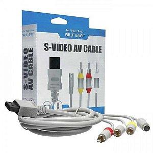 Cabo S-Video AV para Wii/Wii U