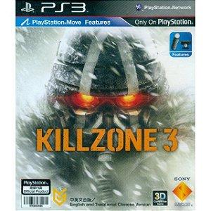 Killzone 3 Versão Chinesa - PS3 (usado)