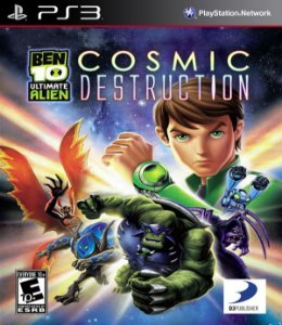 PS3 Ben 10 Ultimate Alien - Cosmic Destruction (usado)