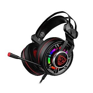 Headset Motospeed G919 7.1 Virtual USB RGB Drivers 50mm Preto PC