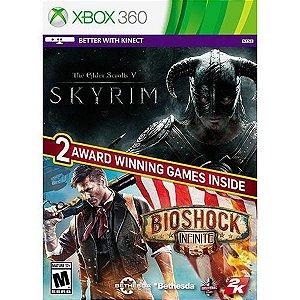 X360 Skyrim & Bioshock Infinite Bundle