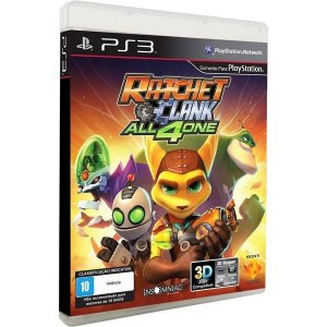 PS3 Ratchet & Clank - All 4 One