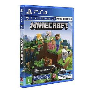 Minecraft Starter Collection: Modo VR Incluído - PS4