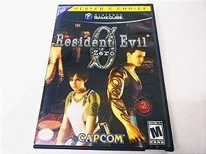 Resident Evil Zero Players Choice - Gamecube (usado)