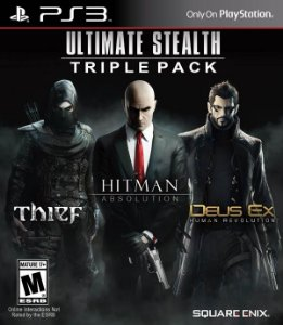 PS3 Ultimate Stealth - Triple Pack