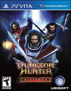 PSV Dungeon Hunter Alliance (usado)