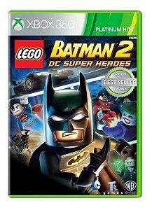 Lego Batman 2: DC Super Heroes Hits - Xbox 360 (usado)