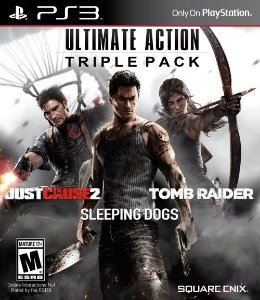 PS3 Ultimate Action Triple Pack (usado)