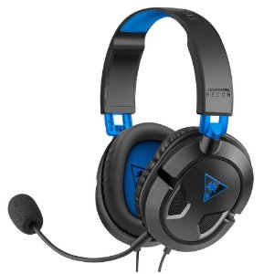 Headset Turtle Beach Recon 50P C/ Fio Drivers 40mm - PS5/PS4