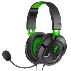 Headset Turtle Beach Recon 50X C/ Fio Drivers 40mm Xbox Series/Xbox one
