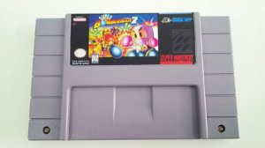 SNES Super Bomberman 2 (usado)