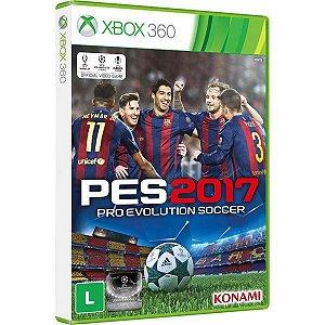 PES 2017: Pro Evolution Soccer - Xbox 360 (usado)