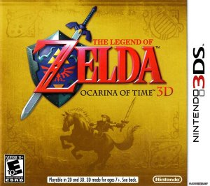 The Legend of Zelda: Ocarina of Time 3D - 3DS (usado)