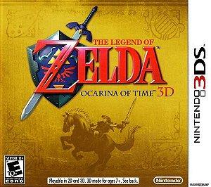THE LEGEND OF ZELDA - OCARINA OF TIME 3D USADO (3DS)