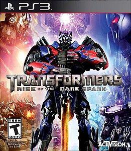 PS3 Transformers - Rise of The Dark Spark (usado)