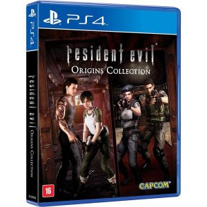 Resident Evil: Origins Collection - PS4 (usado)