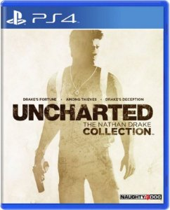 Uncharted: The Nathan Drake Collection - PS4 (usado)