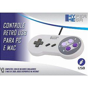 Controle SNES USB PC HyperMega