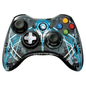 Controle Xbox 360 Halo 4 Wireless (sem embalagem)