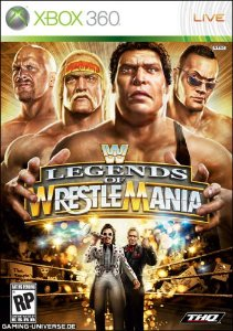 X360 WWE Legends of Wrestlemania (usado)