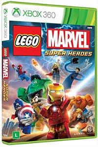 Lego Marvel Super Heroes - Xbox 360 (usado)