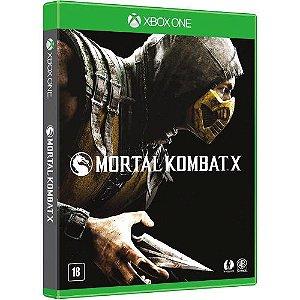 XONE Mortal Kombat X (usado)