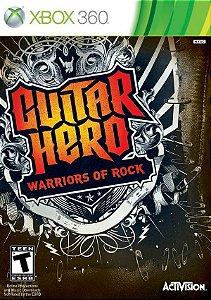 X360 Guitar Hero - Warriors of Rock (usado)