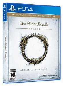 PS4 The Elder Scrolls Online - Tamriel Unlimited