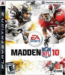 Madden NFL 10 - PS3 (usado)