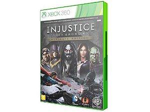 Injustice Gods Among US: Ultimate Edition - Xbox 360 (usado)