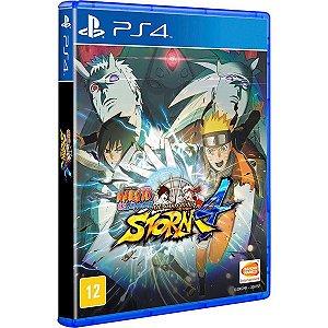 Naruto Shippuden: Ultimate Ninja Storm 4 - PS4 (usado)