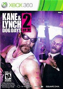 X360 Kane & Lynch 2 - Dog Days (usado)