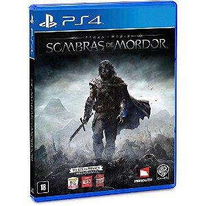PS4 Terra Media - Sombras de Mordor