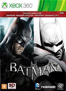 X360 Combo Batman Arkham Asylum + Batman Arkham City